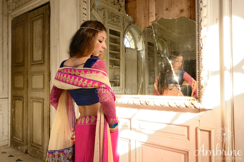 robe-sari-veer-zara-ambrine-collection-bordeaux-3